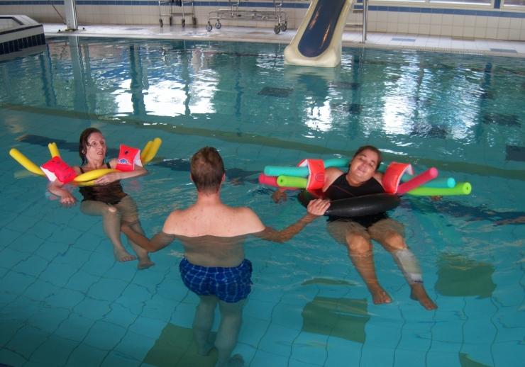 Zwemmen met mensen met NAH